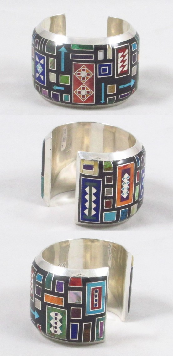 Tanner Chaney Silver Jewelry Tsos Brown Bracelets 52440
