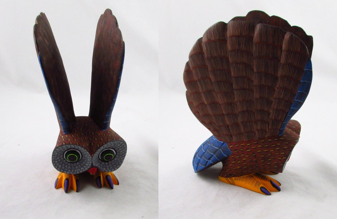 Tanner chaney oaxacan wood carvings beatriz morales owls