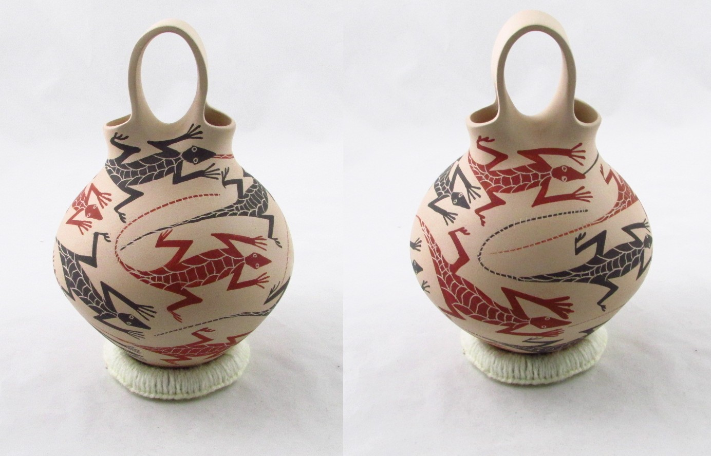 Tanner Chaney Mata Ortiz Pottery Jose Villa Wedding Vases J6141