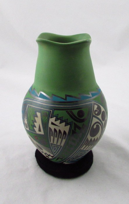 Tanner Chaney Mata Ortiz Pottery Cesar Navarette Ortiz Multi Color Pots J6293