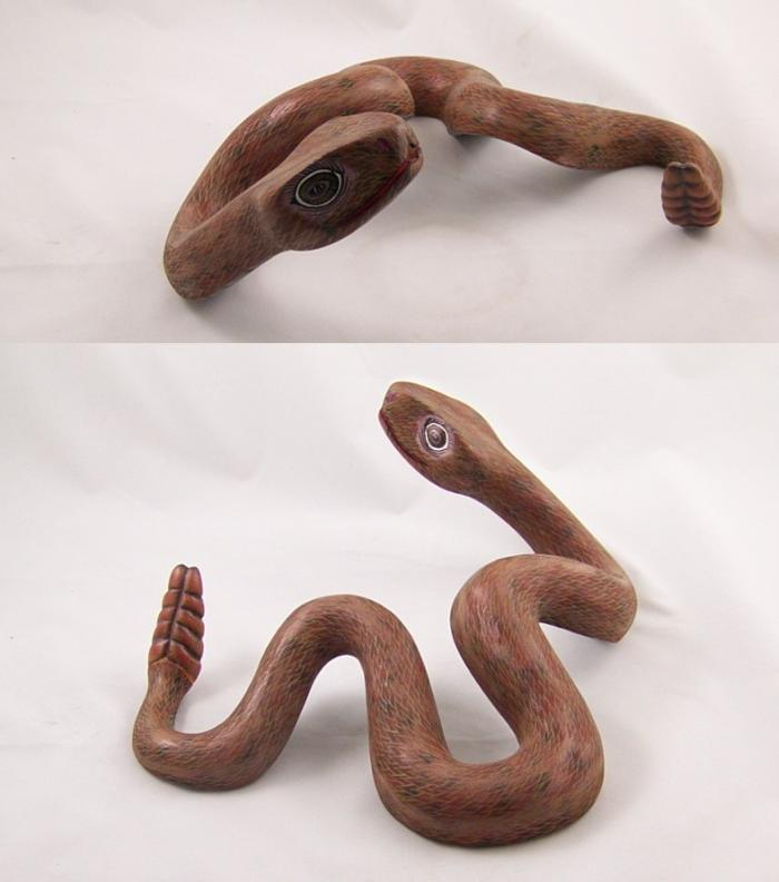 Tanner chaney oaxacan wood carvings damian morales snake